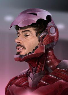 Iron Man by Paolo Andrey , Iron Man Avengers, Avengers Art, Marvel Comics, Chibi Marvel, Marvel Comic Universe, Marvel Fan, Comics Universe, Iron Man Wallpaper, Iron Men