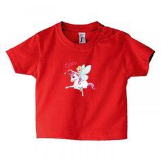 #VETEMENTBEBE Tee shirt fille pour les petites fées + prénom : différentes tailles disponibles http://www.bebe-abord.com/tee-shirt-personnalise-fille/415-tee-shirt-decor-fee-et-licorne.html