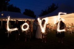 I wanted a sparkler pic so bad.I think Janine at Intuition Photography read my mind! Sparklers, Intuition, Wedding Planning, Backyard, Photography, Patio, Photograph, Party Sparklers, Wedding Ceremony Outline