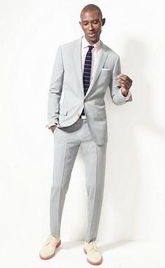 J.Crew Ludlow Travler suit.
