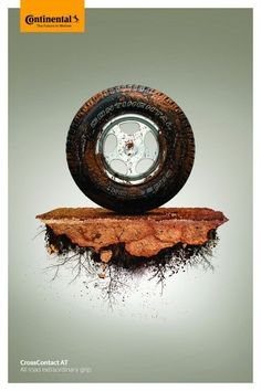 Advertising Campaign : Continental: Mug Clever Advertising, Car Advertising, Advertising Campaign, Advertising Design, Ads Creative, Creative Posters, Creative Design, Guerilla Marketing, Matte Painting