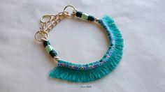 Hundehalsband / Halsband ethnische Seil / Slip Kragen von MoncoPark