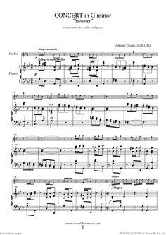 98 best film music books pins images on pinterest books to read concerto summer sheet music for violin and piano fandeluxe Image collections