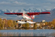 Piper PA-18-150 Super Cub, Lake Hood, Anchorage Alaska