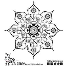 Shanti Mandala -Star Of David- Gypsy Art-Jewish Star-Strength Mandala-Coloring page-Judaica Printable Art-INSTANT DOWNLOAD-Kids DIY-Crafts-Jewish by @zebratoys on Etsy