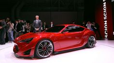 Scion FR-S has gone from concept car to reality and it is one HOT little sports car ♥