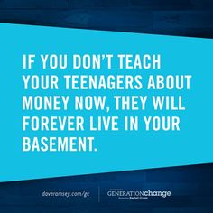 Set your teen up for success.