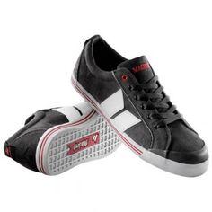 Macbeth Shoes   Macbeth Eliot Premium Shoes - Black White Red