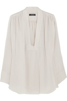 Isabel Marant Zora silk-georgette top NET-A-PORTER.COM $800