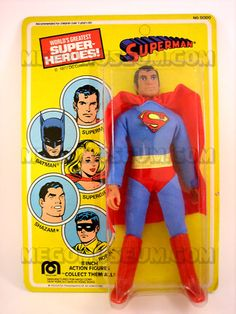 1977 Superman.  I had a few different superheroes.  Wish I knew then how collectable they would become.