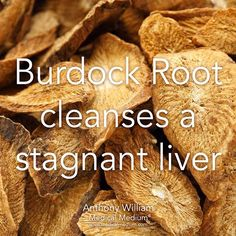 Burdock cleanses a stagnant liver Learn more about the healing powers of burdock root in Life-Changing Foods, link in profile