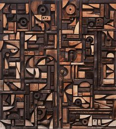 carved wood doors c.1968
