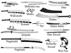 Shinobi Weapons Samurai Weapons, Ninja Weapons, Medieval Weapons, Weapons Guns, Butterfly Swords, Chinese Weapons, Arte Ninja, Types Of Swords, Martial Arts Weapons