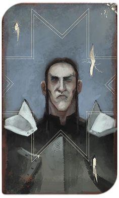 DA:I Tarot card - Logain Mac Tir