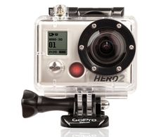 GoPro Hero 2   Ranges from 150 to 300 dollars.