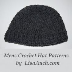 My husband loves his crocheted beanies. And I love making them. enjoy this wonderful Free Crochet mens hat pattern. I have also included several of my favorite go-to mens hat patterns.