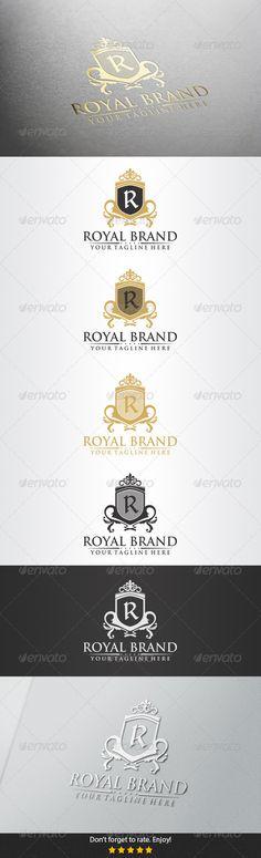 Royal Brand Logo — Vector EPS #education #royal blue • Available here → https://graphicriver.net/item/royal-brand-logo/5380974?ref=pxcr