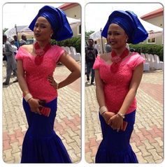 Fabulously Eclectic and Top-Notch WDN's Aso Ebi Styles - Wedding Digest Naija