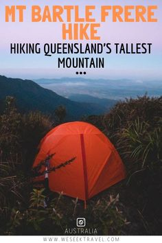 The Mount Bartle Frere hike will lead you through incredible tropical rainforest to the top of Queensland's tallest mountain. Travel Advice, Travel Guides, Travel Tips, Budget Travel, Hiking Guide, Backpacking Tips, Hiking Trails, Hiking Photography, Australia Travel
