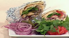 Chicken shawarma with garlic sauce :: Australian Women's Weekly Mobile