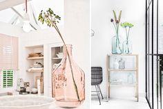 | Ideas para decorar con damajuanas