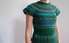 Handmade icelandic style women vest by TASSSHA on Etsy, (www.etsy.com)