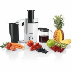 BOSCH Juicer Check it out om: https://tjengo.com/kokkenmaskiner/300-saftcentrifuge.html