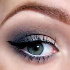 A soft grey eyeshadow can be perfect for everyday wear. Pair it up with a cateye and you're all set for the day. See the makeup used and DIY the look here.
