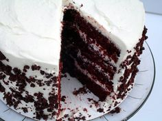 Blue Ribbon Red Velvet Cake | veronicascornucopia.com