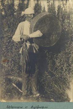Shaman with tabret. Shor.Image Catalogue : Kunstkamera