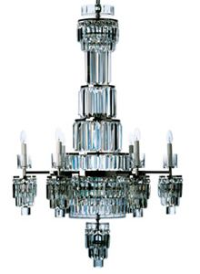 Art Deco Chandelier | More on the myLusciousLife blog: www.mylusciouslife.com