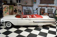 En Sevdiğim Araba Üstü Açık İmpala cabrio