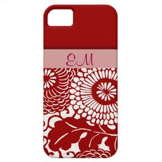 Vintage Abstract Floral Pattern iPhone5 covers iPhone 5 Covers