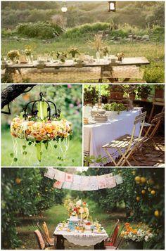 18th garden birthday party ideas