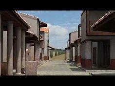 Reconstrucción virtual de la ciudad romana de Asido Caesarina (actual Medina Sidonia, Cádiz).