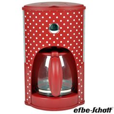 Efbe-Schott Country Dots Coffee Machine