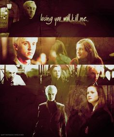 oh I know, it's ridiculous, but I'm a Draco-Ginny shipper :D Harry Potter Couples, Harry Potter Ships, Harry Potter Books, Dramione, Drarry, Ginny Weasley, Tom Felton, Fantastic Beasts, Otp