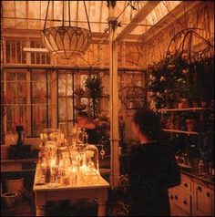 Practical Magic House - Conservatory...I love, love, love this house.