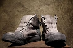 -PN\P: BORIS BIDJAN SABERI SS16 High Top Sneakers