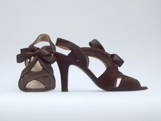 Bally Brown Suede Open Toe Sandals - Size 7.5 - Our price is $125 - Sale supports Spirit of Sharing