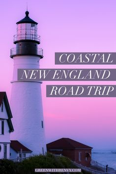 The best coastal New England destinations for a beautiful road trip in the fall. Water is kissed by the sun and crowds have disappeared. | Where to travel in New England | Best Coastal New England | Fall in New England #Connecticut #Massachusetts #Maine #RhodeIsland #NewEngland #USA
