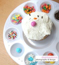Paint Palette Cupcake Station