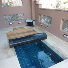 Build your hot tub, spa or exercise pool. Get instant access to detailed information on how to build your own hot tub, spa or exercise pool today! Small Swimming Pools, Small Pools, Swimming Pools Backyard, Swimming Pool Designs, Lap Pools, Indoor Pools, Pool Decks, Hot Tub Backyard, Small Backyard Pools