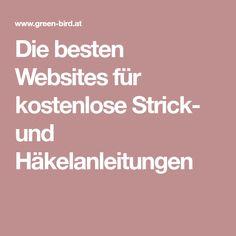 Die besten Websites für kostenlose Strick- und Häkelanleitungen