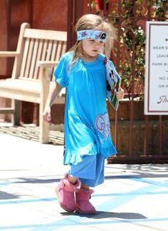 Ben Affleck Takes His Girls to Cheryl Fudge Fashion Camp