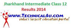 Jharkhand Intermediate Class 12 Results 2014