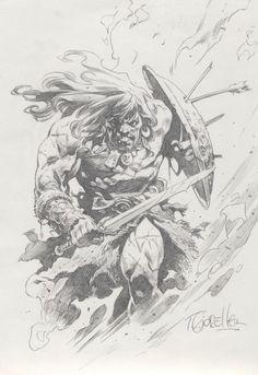 Conan by Tomas Giorello