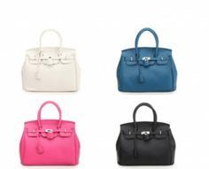 Look-a-like Birkin Bag; chique damestas verkrijgbaar in 4 verschillende kleuren!