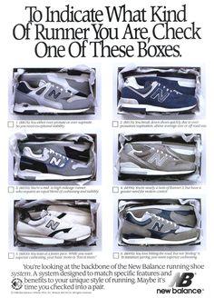 New Balance Running Ad Circa 1989