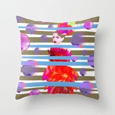Throw Pillow on Society6 #deco #throw #pillow #cojín #diseño #design #fluor #neon #colors #bright #brilliant #amazing #nice #ilustracion #illustration #homedeco #blue #pink #yellow #light #gray #azul #rosa #fashion #passion #women #woman #original #watercolor #textures #style @Society6